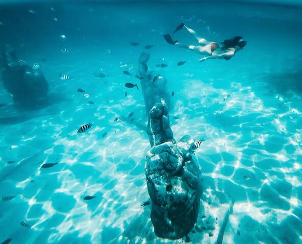 Snorkel in MUSA - Cancun Sailing-jpeg